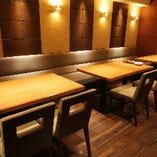 【最大14名様迄】宴会用テーブル席
