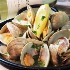漁師滝口さんから届く白ハマグリ(ホンビノス貝)の白ワイン蒸し