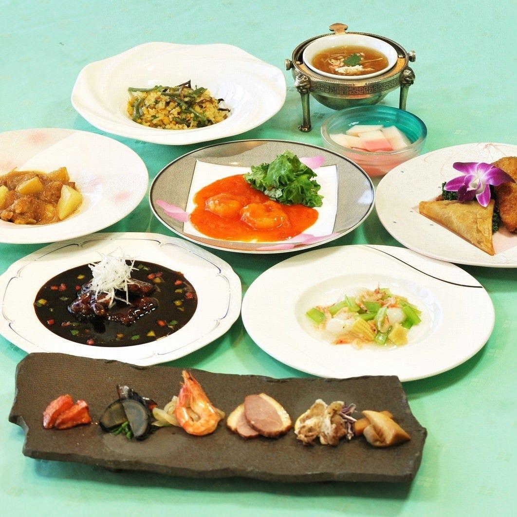 春の彩り、香り豊かなコースで お食事をお楽しみください!