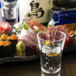 刺身には日本酒!