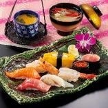 ランチ限定☆ 一番人気の「上寿司セット」