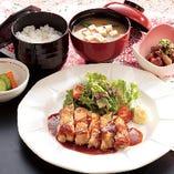 ランチ限定☆ 「若鶏ステーキ定食」