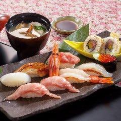 上にぎり寿司(お味噌汁付)