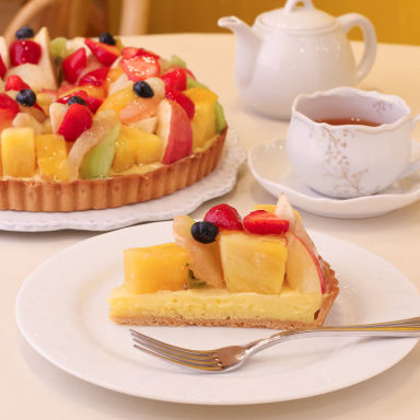 Delices tarte&cafe 天王寺Mio店 こだわりの画像