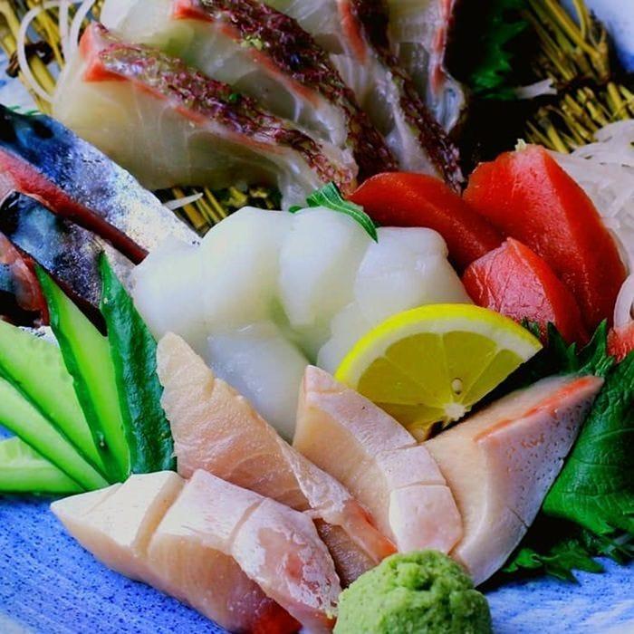 目利きが光る!自慢の海鮮料理