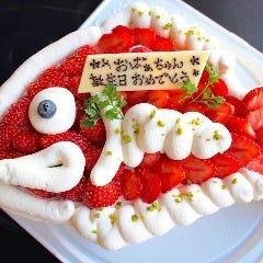 めで鯛ケーキ