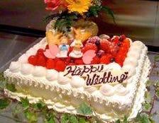 オーダーごとによるオリジナルケーキ