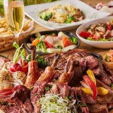 こだわりの肉料理で宴会