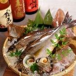 新鮮な魚介類【北海道】