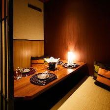 ◆堀ごたつ・お座敷個室ご用意◆