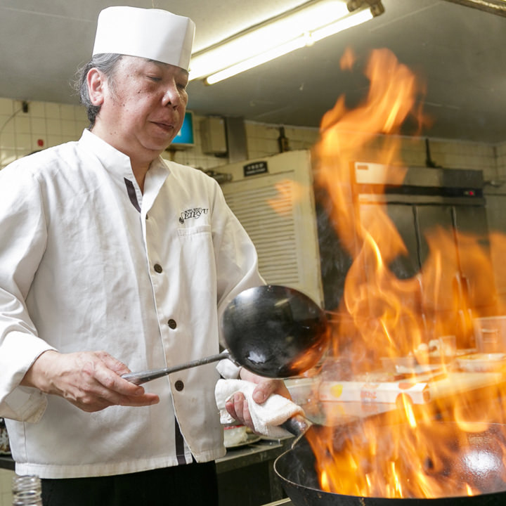 田嶌料理長が腕を振るう潮州料理