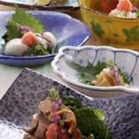 旬の特選食材を生かしきった 板前料理の数々