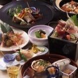 板前の技が光る本格和食。会席6,500円~ご予算に合わせます