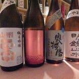 全国より厳選した日本酒は常時50種類以上    【国酒】を楽し