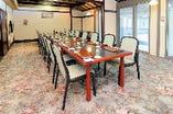 完全個室【梅の間】:テーブル席【9名様~16名様】