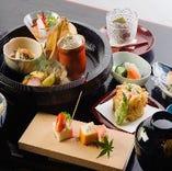 【昼席】  5種の御膳と選べるごはん
