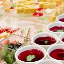 【ランチ宴会プラン】お昼から贅沢にご宴会!料理7品《2時間飲み放題付》