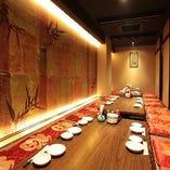 【個室】宴会利用向け最大25名様掘りごたつ個室
