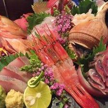 粋自慢の新潟日本海を味わうコース