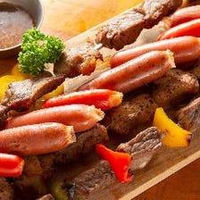 ◆【3時間飲み放題付】肉好きのための!ローストビーフ食べ放題コース〈全9品〉宴会・飲み会・パーティ