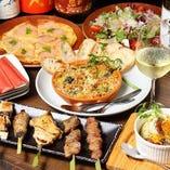 ◇コース◇ 大山鶏を使用した多彩なお料理をお楽しみください!