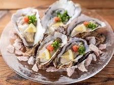 厳選された豊洲直送、新鮮生牡蠣♪