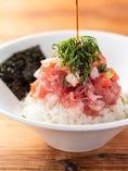 日替わり海鮮丼!新鮮な魚介類を使用しています♪