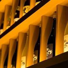 和食と味わう日本酒は10種ご用意