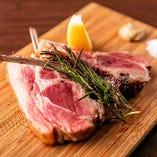 仔羊の香りと柔らかな肉質をお届け『香り高きラムチョップ』