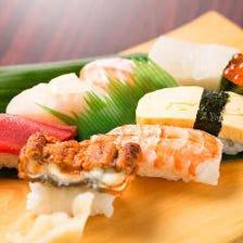 とれたてピチピチ新鮮魚介のお寿司★
