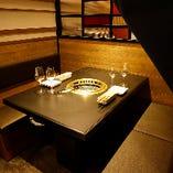 テーブル半個室席(~15名様)
