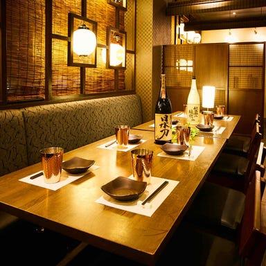 最大220種類食べ飲み放題 創作和食 蝦夷蔵 札幌店 店内の画像