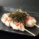 鶏ささみ明太マヨ串