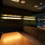 大人気!1日2組限定のVIP個室!美しい夜景を眺めながらお食事を