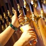 クラフトビールを思う存分お楽しみください!