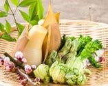 春魚サワラ(鰆)と春野菜の天ぷら