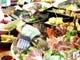 飲放付3000円イカ姿造と天然旬魚の豪華10種盛と秋の味覚コース