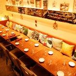 海外のかわいいカフェを思わせる店内にリニューアル