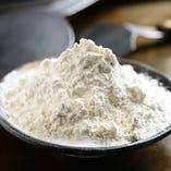 認定された者だけが使える大阪「若竹」の粉を使用
