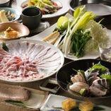 季節のうつろいを堪能できる和料理を心ゆくまでお愉しみください
