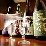 豚しゃぶと相性の良い日本酒・焼酎を各種ご用意しております
