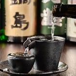 佐賀の地酒を中心とした銘酒を多数ご用意