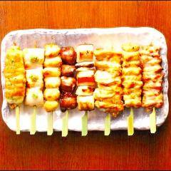 本日の串焼き盛り合わせ8本
