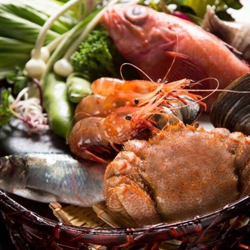 【北海道産】新鮮魚介、肉、野菜など