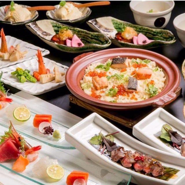 【月】コース:お料理8品5,500円 (税込)