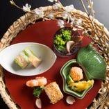 【伝統の技術】 洗練された料理人の繰り出す新北海道料理を。