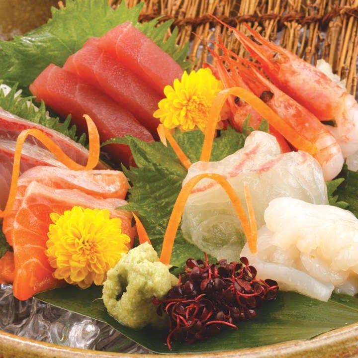 新鮮な魚介類とこだわりの逸品!