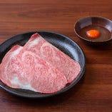 特選ロース焼きすき(1枚)