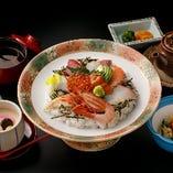 【新鮮な海の幸を堪能】海鮮丼ぶり御膳 /1,650円(税込)