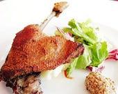鴨もも肉のコンフィ